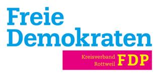 FDP Kreisverband Rottweil Logo